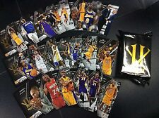 2015-16 Panini Kobe Bryant Herovillain Hero Villain Black Set 21 card