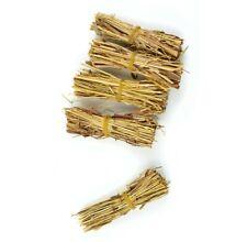 "3"" Miniature Straw Bundles - Farm Fairy Garden - Doll House - Natural Materials"