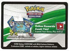 Detective Pikachu Online Booster Code Card - Via Message
