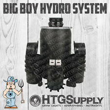 NEW EBB and GROW Complete HYDROPONICS SYSTEM 12 POT SITE BUCKET GRO FLOW Kit FLO