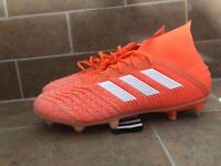 Adidas Predator 19.1 SG G25818 Soccer Shoes Women Size 11 New Cleats