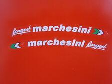 Ducati 916 996 998 999 1098 1199 Hypermotard Marchesini forgiato adesivo bianco