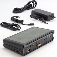 Targus Universal USB 3.0  DV DVI HDMI 2K Docking Station w/ Power DOCK171USZ