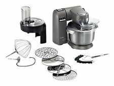 Bosch MUMX30GXDE 1600W 5.4L Küchenmaschine - Grau