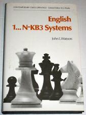 Inglés 1... N-KB3 Systems (contemporánea Ajedrez Op.. por Watson, John L. Tapa Dura