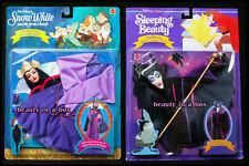 Maleficent Evil Queen Disney Mask Costume Fashion Set Barbie Doll Snow White Lot