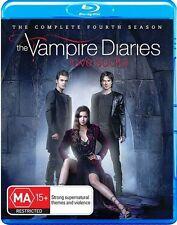 The Vampire Diaries: S4 Series / Season 4 Blu-Ray Region B