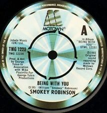 "SMOKEY ROBINSON being with you/what's in your life for me TMG 1223 7"" WS EX/"