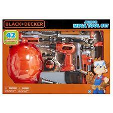 NEW Black and Decker Jr Mega Tool Set FREE SHIPPING