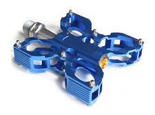 MTB Fuss pedal BMX-Mountainbike pedal azul 135g.