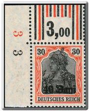 BG I.WK, MV Rumänien, Mi.Nr. 3 F, OER W 1'4'1/2'3'2, postfrisch, Fotoattest BPP