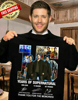 15 YEARS OF SUPERNATURAL-THANK YOU FOR THE MEMORIES  10 SHIRT