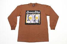 L * NOS vtg 90s 1998 GREEN DAY Nimrod JAPAN / AUSTRALIA longsleeve tour t shirt