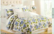 Cynthia Rowley ~ Twin Flower Floral Quilt & 2 Shams Set Zinnia ?