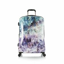 "Heys Quartz Fashion Spinner 30"" Suitcase Luggage Stone Print"