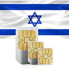 Data SIM card for Israel with 1000 MB for 30 days