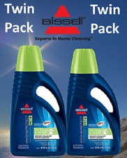 Two(2) Bottle's NEW Formula Bissell Pet Stain & Odour Floor Cleaning Fluid 99K5E