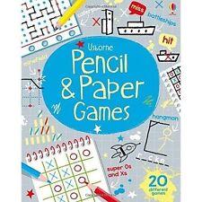 Pencil & Paper Games by Usborne Publishing Ltd (Paperback, 2015)