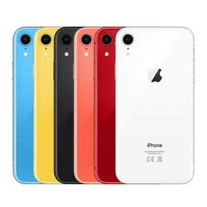 Apple iPhone XR - UNLOCKED - 64/128/256GB - ALL COLOURS - Very Good Condition