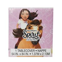 """Spirit Riding Free pastic table cover 54"""" x 84"""" birthday party decor"""