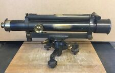 GREAT LOOKING ANTIQUE GUN METAL BRASS THEODOLITE TROUGHTON & SIMMS LONDON NAME