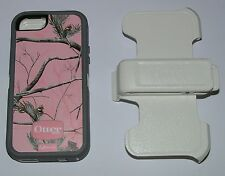 Otterbox Defender Realtree Pink Camo Case iPhone 5/5s/SE, new in retail pkg.