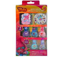 Dreamworks Trolls 8 PCS Nail Art Collection Gift Set Licensed Authentic NEW