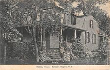 1910 Holliday House Barbours Heights RI post card North Kingstown Barbers