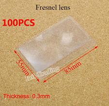 Wholesale 100 PCS Credit Card 3X Magnifier Magnification Magnifying Fresnel LENS