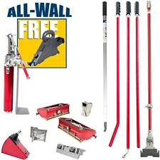 Level5 Drywall Taping/Finishing Set w/Extendable Nail Spotter & FREE Banjo Taper