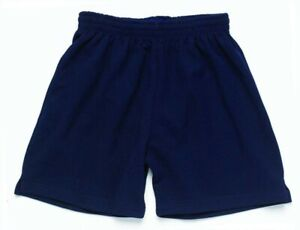 Navy Unisex Games Shorts