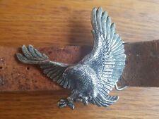 """Hommes noir marron 1.5/"""" véritable pleine fleur cuir véritable ceintures boucles métalliques 26-60/"""""""