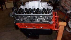 """MOPAR 340 Dodge 4"""" EAGLE Stroke CRANK Crate MOTOR LONG BLOCK, E/Q """"B"""" LA HEADS"""