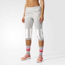 Adidas Stella McCartney Sport Womens Cotton 3/4 Sweat Pants AP6171 Sz L