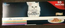 Gourmet Perle Chef's Collection in Gravy Wet Cat Food Pouches - 60 x 85g New