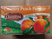 Celestial Seasonings Herbal Tea Caffeine Free Country Peach Passion