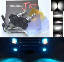 LED Kit X3 50W H7 8000K Icy Blue Two Bulbs Head Light Low Beam Replace Upgrade