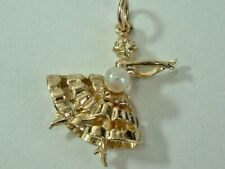 COLLECTORS 9CT GOLD 1970'S DANCING LADY MOVING LEGS CHARM