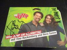 73340 Nora und Tino Film Musik TV Kino original signierte Autogrammkarte
