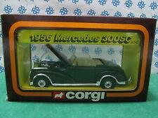 Vintage -  MERCEDES-BENZ  300 SC 1956        -  Corgi toys  806