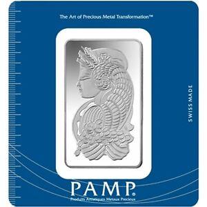 L@@K PAMP 50g Silver Bar Minted PREPPER Survival Investment !!!