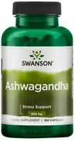Swanson Ashwagandha, 900mg - 100 caps - UK FAST SHIPPING