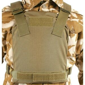BlackHawk 32PC08CT Low VIS Plate Carrier - Medium Coyote Tan Active Shooter