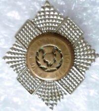 Badge- VINTAGE  Royal Scots Officer's Badge (Bi-Metal, Genuine*)