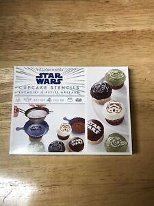 Williams Sonoma Star Wars Cupcake Stencils NEW