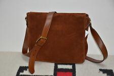 Ralph Lauren Gentleman's Leather & Suede Shoulder Messenger Bag