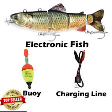 Electric Fishing Lures Robotic Rechargeable Swimming Bait Bass Pike Tackle Perch