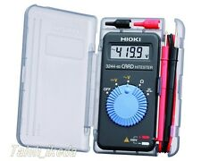 HIOKI  POCKET DIGITAL MULTIMETER  CARD TESTER  3244-60  MADE IN JAPAN EMS
