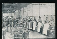 France PARFUMERIE BRUNO COURT Laboratoire des Bains-Marie c1900s? PPC