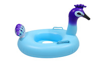 Peacock baby toddler kids float Swimming inflatable pool float raft Summer Toy